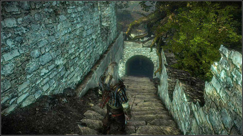 You will hear a dog right beside the entrance to the ruined hospital (M8, 10) and after a few moments later you will be attacked by two more Nekkers - In the Claws of Madness (steps 1-7) - Side missions - The Witcher 2: Assassins of Kings Game Guide