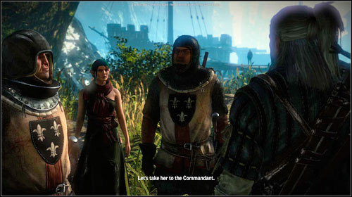 Return outside (M9, 4) and talk with Malena - Malena - Side missions - The Witcher 2: Assassins of Kings Game Guide