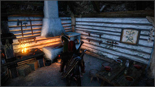 The woman can be found either in her house or sitting on a bench right beside it - Meliteles Heart | Act I side missions - Side missions - The Witcher 2: Assassins of Kings Game Guide