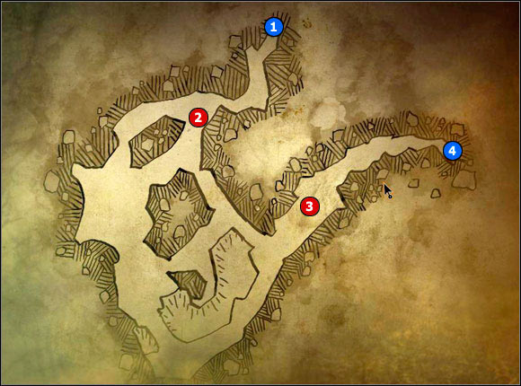 1 - M9 Cave #1; M10 Ruined hospital - Maps - The Witcher 2: Assassins of Kings Game Guide