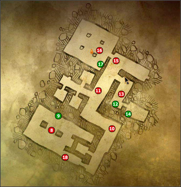 8 - M9 Cave #1; M10 Ruined hospital - Maps - The Witcher 2: Assassins of Kings Game Guide