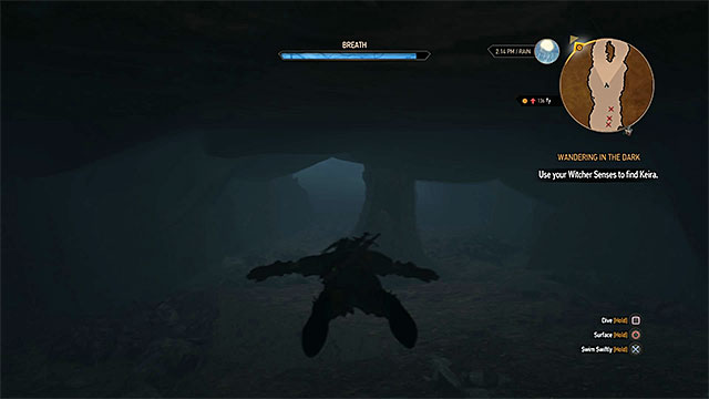 Wandering in the dark main quest the witcher 3 wild hunt game exploring the ruins solutioingenieria Gallery