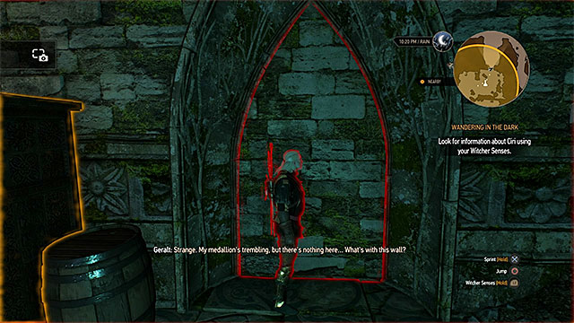 Find the exit and examine it thoroughly - Wandering in the Dark - main quest - Midcopse - The Witcher 3: Wild Hunt Game Guide & Walkthrough