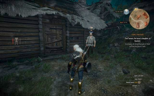 The man in Benek village - Witcher contracts in Crookback Bog - Crookback Bog - The Witcher 3: Wild Hunt Game Guide & Walkthrough