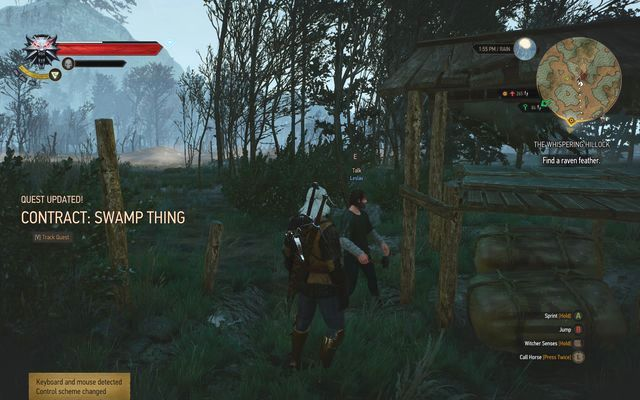 Leslaw - the swamp contact - Witcher contracts in Crookback Bog - Crookback Bog - The Witcher 3: Wild Hunt Game Guide & Walkthrough