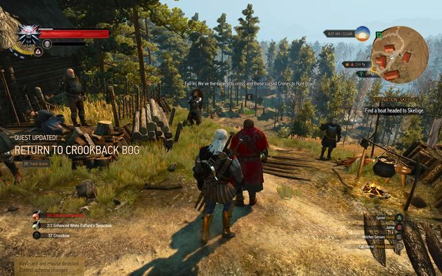 Go to the Donnerwile to start the quest - Return to the Crookback Bog - side quest - Crookback Bog - The Witcher 3: Wild Hunt Game Guide & Walkthrough