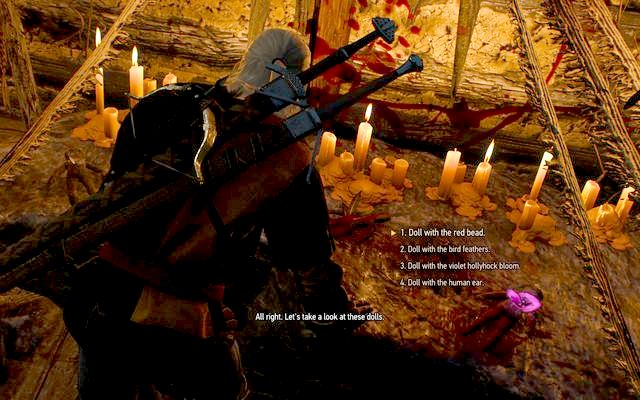 Pick the third option to remove the spell from Anna - Return to the Crookback Bog - side quest - Crookback Bog - The Witcher 3: Wild Hunt Game Guide & Walkthrough