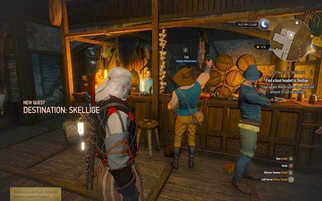 The quest will start automatically after finishing the main quest Royal Audience in which you will meet with all the most important characters in the Royal Palace in Vizima - Destination Skellige - main quest - Free City of Novigrad - The Witcher 3: Wild Hunt Game Guide & Walkthrough