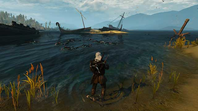 Crossbow is not a weapon that makes you much stronger when fighting on the land, but under water situation is quite different - How to quickly gain experience? - Frequently Asked Questions (FAQ) - The Witcher 3: Wild Hunt Game Guide & Walkthrough