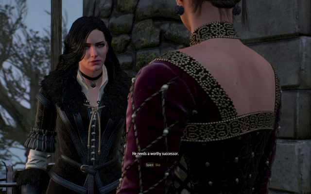 Meet with Yennefer in front of the castle gate - The King is Dead - Long Live The King - main quest - Kaer Trolde - The Witcher 3: Wild Hunt Game Guide & Walkthrough