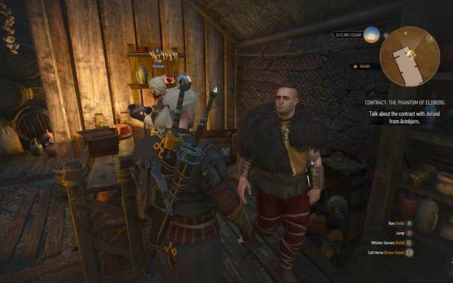 Talk to Jorund in the inn - Witcher contracts in Kaer Trolde - Kaer Trolde - The Witcher 3: Wild Hunt Game Guide & Walkthrough