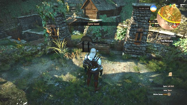 By using the mechanism you can open and close specific floodgates. - Side quests in Hindarsfjall - Hindarsfjall - The Witcher 3: Wild Hunt Game Guide & Walkthrough