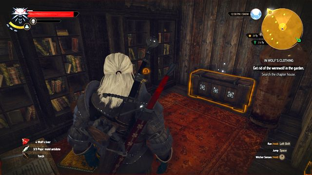 Take Morkvargs journal from the chest. - Side quests in Hindarsfjall - Hindarsfjall - The Witcher 3: Wild Hunt Game Guide & Walkthrough
