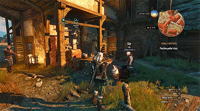 The best armorer in the game can be found in the Crows Perch (pictures above) visited at the beginning of the game - Where you can find the best blacksmith and the best armorer? - Equipment management - The Witcher 3: Wild Hunt Game Guide & Walkthrough