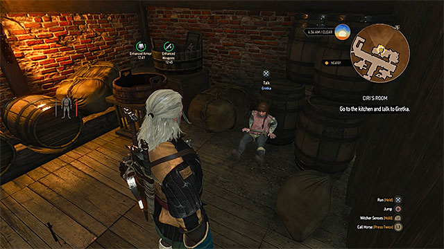 how to open chest near mill in witcher 3
