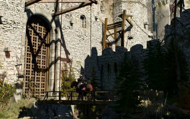 The gate to Kaer Morhen - Ugly Baby - main quest - Kaer Morhen - The Witcher 3: Wild Hunt Game Guide & Walkthrough