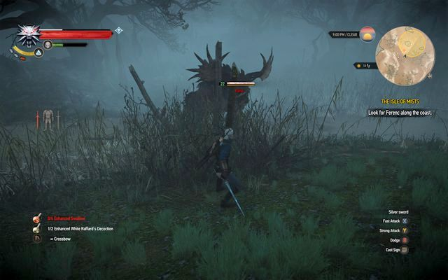 Defeat the fiend to examine the body - The Isle of Mists - main quest - Kaer Morhen - The Witcher 3: Wild Hunt Game Guide & Walkthrough