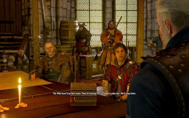 The gathering in Kaer Morhen - you will meet as many people as you manage to recruit - The Battle of Kaer Morhen - main quest - Kaer Morhen - The Witcher 3: Wild Hunt Game Guide & Walkthrough