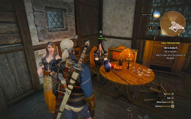 witcher 3 final preparations