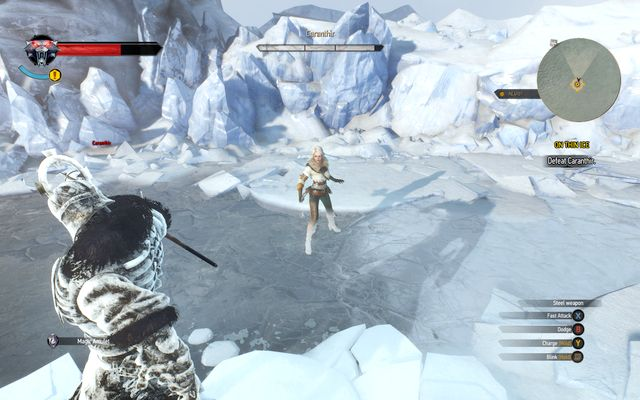 On thin ice the witcher 3 wild hunt game guide - The witcher 3 caranthir ...