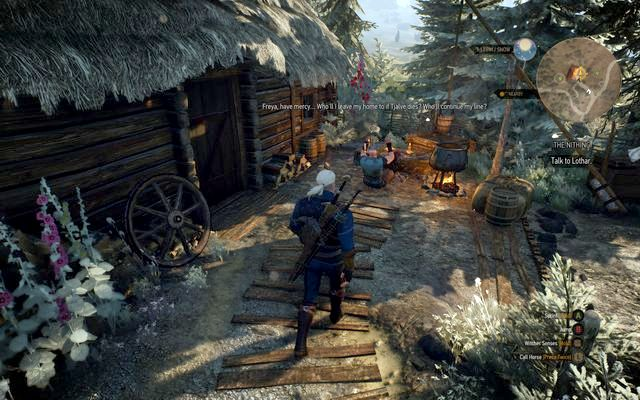 Lotar - Side quests in Kaer Trolde - Kaer Trolde - The Witcher 3: Wild Hunt Game Guide & Walkthrough