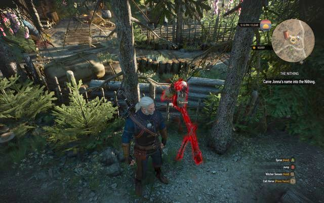 Write the name of the herbalist to redirect the curse on her - Side quests in Kaer Trolde - Kaer Trolde - The Witcher 3: Wild Hunt Game Guide & Walkthrough