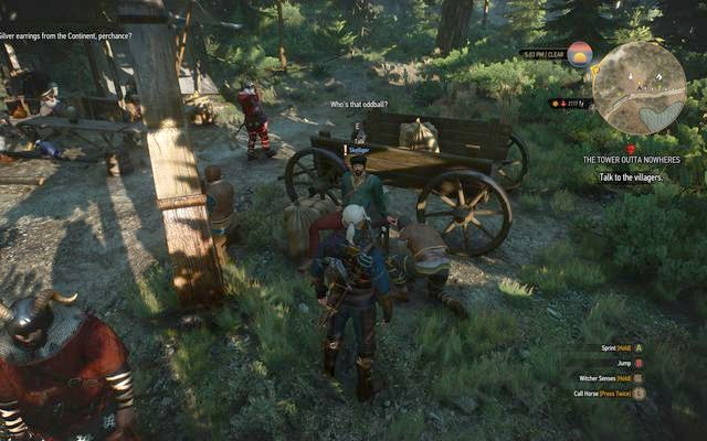Reunion with the crook - Side quests in Kaer Trolde - Kaer Trolde - The Witcher 3: Wild Hunt Game Guide & Walkthrough