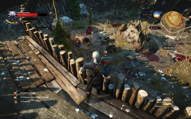 Second bandit camp - Side quests in Kaer Trolde - Kaer Trolde - The Witcher 3: Wild Hunt Game Guide & Walkthrough
