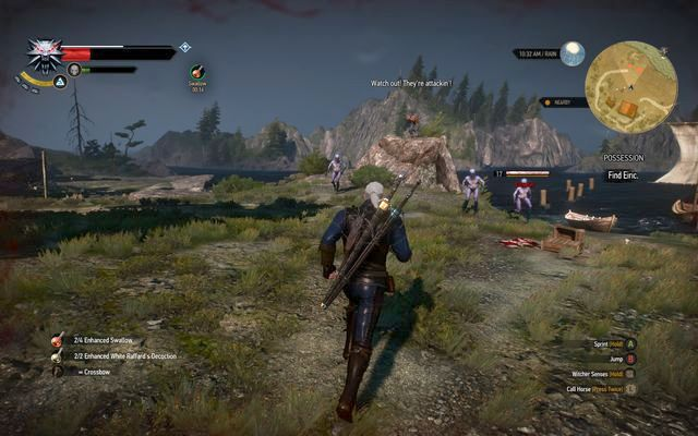Defeat the drowners and free Eiric - Side quests in Kaer Trolde - Kaer Trolde - The Witcher 3: Wild Hunt Game Guide & Walkthrough