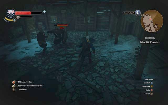 Fight Udalryks warriors - Side quests in Kaer Trolde - Kaer Trolde - The Witcher 3: Wild Hunt Game Guide & Walkthrough