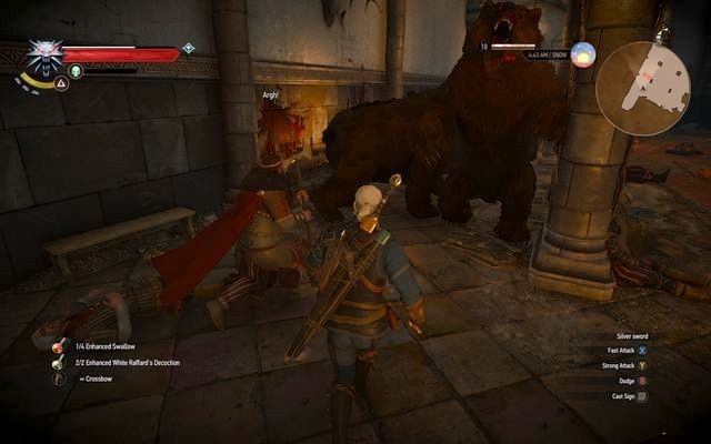 Defeat the furious bears - Side quests in Kaer Trolde - Kaer Trolde - The Witcher 3: Wild Hunt Game Guide & Walkthrough