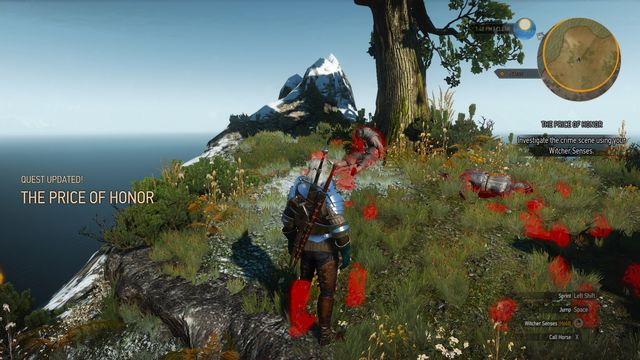 Examine warriors bodies and take a key and a note from one of them. - Side quests in Faroe Isle - Faroe Isle - The Witcher 3: Wild Hunt Game Guide & Walkthrough