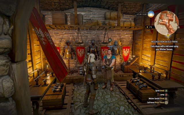 Armorer from Novigrad - List of merchants - Witcher gear pieces - best weapons and armors - The Witcher 3: Wild Hunt Game Guide & Walkthrough