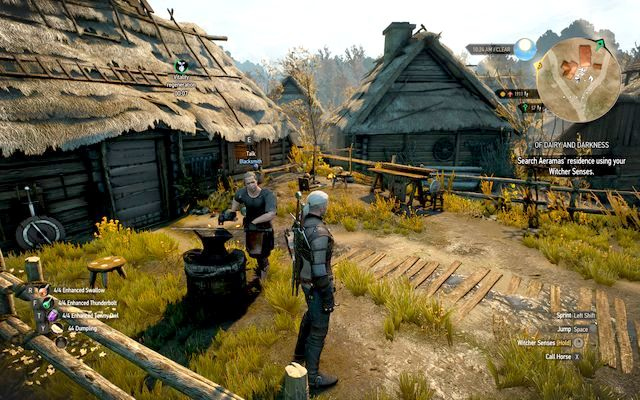 Lindenvale Blacksmith - List of merchants - Witcher gear pieces - best weapons and armors - The Witcher 3: Wild Hunt Game Guide & Walkthrough