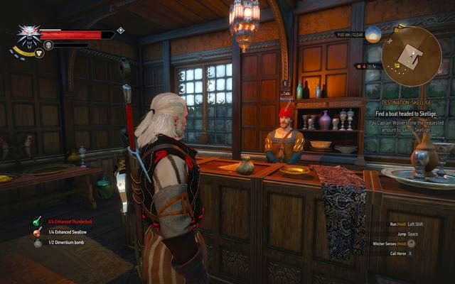 Merchant from Novigrad selling quest items - Side quests in Free City of Novigrad - Free City of Novigrad - The Witcher 3: Wild Hunt Game Guide & Walkthrough