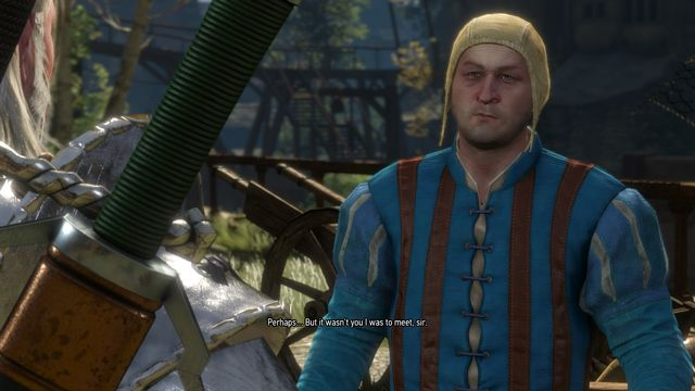 Find the messenger who wears a blue jacket. - Side quests in Free City of Novigrad - Free City of Novigrad - The Witcher 3: Wild Hunt Game Guide & Walkthrough