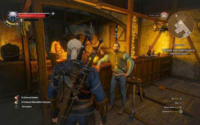 Meet with the questgiver in an inn in Novigrad - Side quests in Free City of Novigrad - Free City of Novigrad - The Witcher 3: Wild Hunt Game Guide & Walkthrough