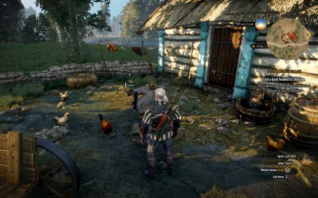 You will find the old woman near the mill - Side quests in Vegelbud Residence - Vegelbud Residence - The Witcher 3: Wild Hunt Game Guide & Walkthrough