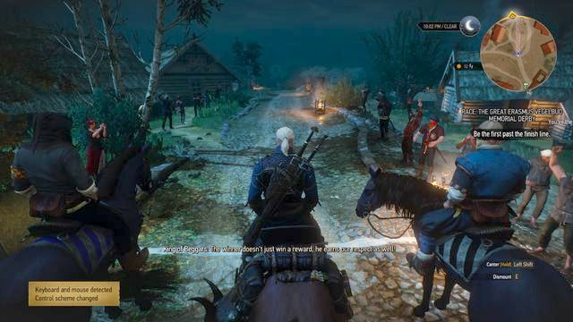 Second part of the race contains of illegal races on the Farcorners - Side quests in Vegelbud Residence - Vegelbud Residence - The Witcher 3: Wild Hunt Game Guide & Walkthrough