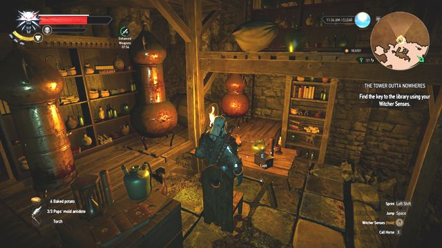 Take the key from the chest. - Side quests in An Skellig - An Skellig - The Witcher 3: Wild Hunt Game Guide & Walkthrough