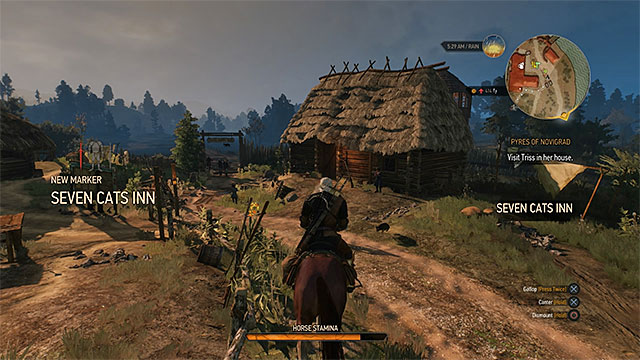 The game will inform you whenever you find some new location - Basic information about exploration - Exploring the game world - The Witcher 3: Wild Hunt Game Guide & Walkthrough