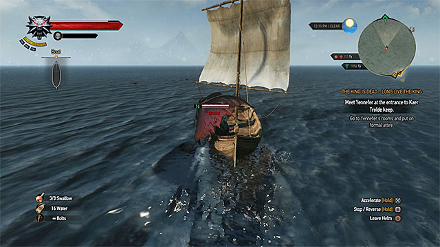 You can defend yourself while using a boat, but it is a limited way - Horse ride and swimming - Exploring the game world - The Witcher 3: Wild Hunt Game Guide & Walkthrough