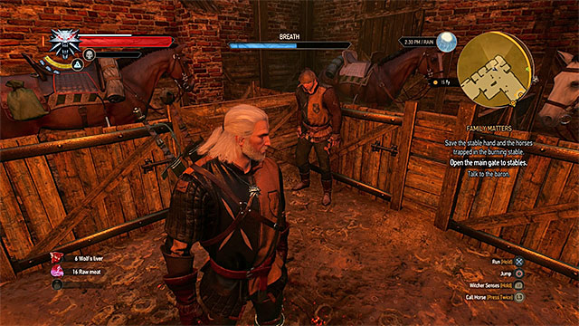 1 - Family Matters - main quest - Crows Perch - The Witcher 3: Wild Hunt Game Guide & Walkthrough
