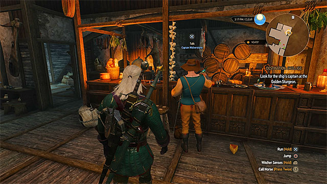 Ship captain can be found in the local inn - How to get to Skellige islands? - Frequently Asked Questions (FAQ) - The Witcher 3: Wild Hunt Game Guide & Walkthrough