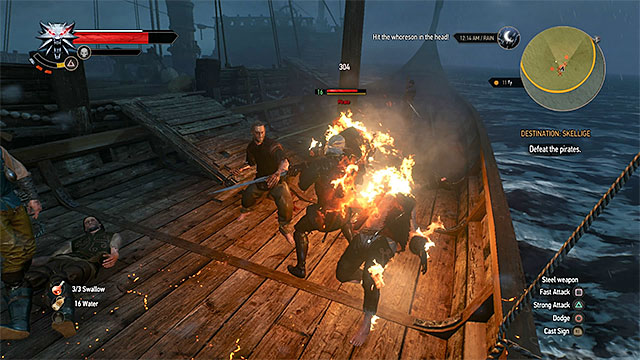 You must fight pirates only during your first travel to Skellige - How to get to Skellige islands? - Frequently Asked Questions (FAQ) - The Witcher 3: Wild Hunt Game Guide & Walkthrough