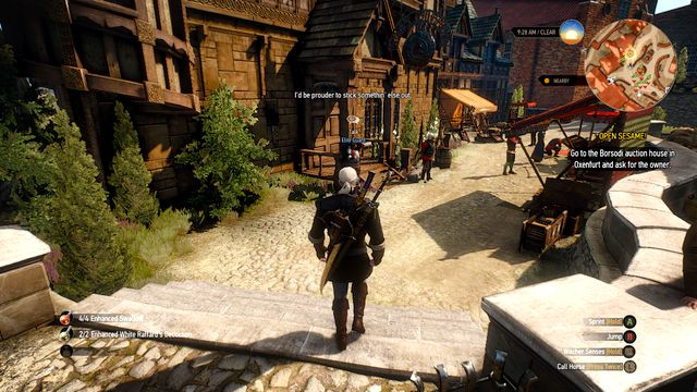 Auction house - Open Sesame! - part I - Main quests - The Witcher 3: Wild Hunt Game Guide & Walkthrough