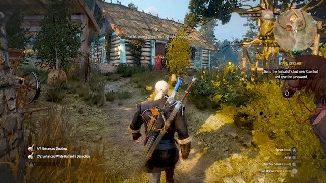 Herbalist near Oxenfurt - Open Sesame! - part I - Main quests - The Witcher 3: Wild Hunt Game Guide & Walkthrough