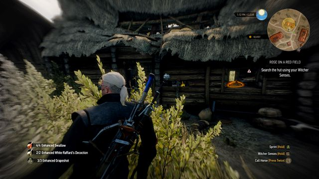 Examine the house to which the smell will lead you - Rose on a Red Field - Side quests - The Witcher 3: Wild Hunt Game Guide & Walkthrough