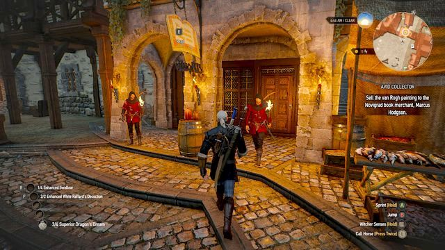 Book merchants house on the Novigrad marketplace - Avid Collector - Side quests - The Witcher 3: Wild Hunt Game Guide & Walkthrough