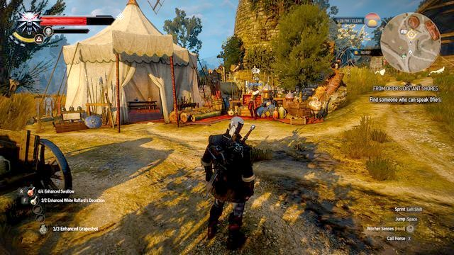 Talk to Ofieri merchant - From Ofiers Distant Shores - Treasure hunts - The Witcher 3: Wild Hunt Game Guide & Walkthrough